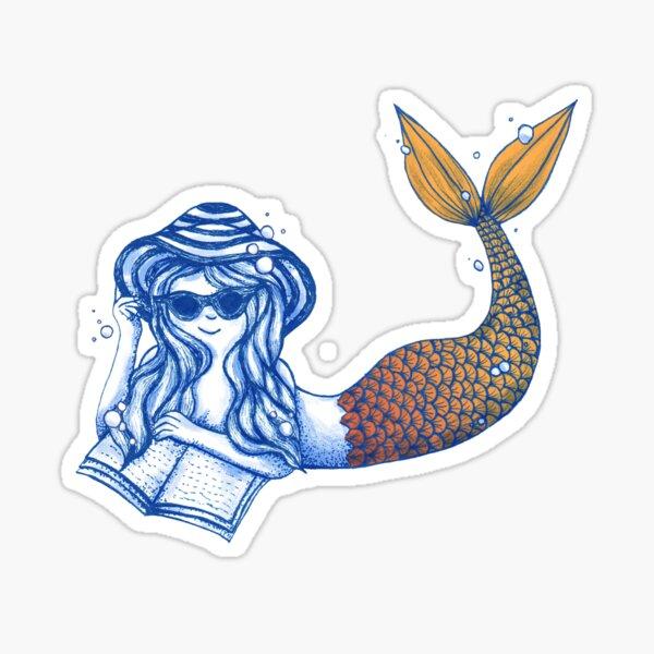 Mermaid Beach Tale Sticker