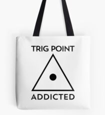 Trig Point Addicted-Walking-Hiking Tote Bag