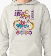 Sailor Meow Pullover Hoodie