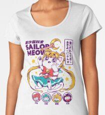 Sailor Meow Premium Scoop T-Shirt