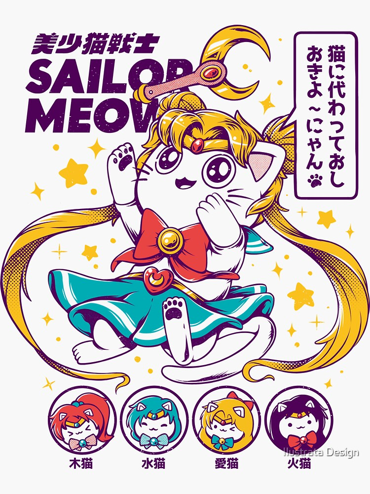 Sailor Meow by ilustrata