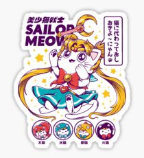 Sailor Meow Sticker