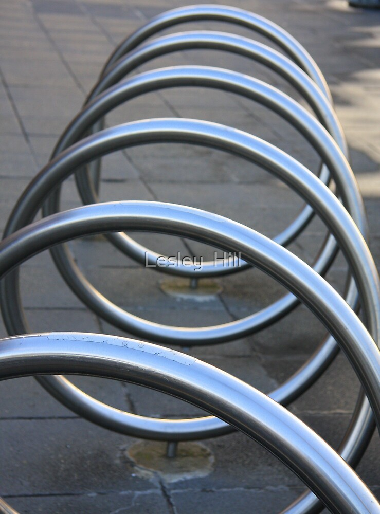 Silver Loops ! by Lesley  Hill