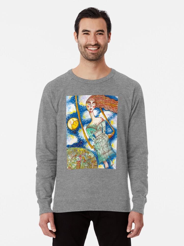 Alternate view of La Fea Lightweight Sweatshirt