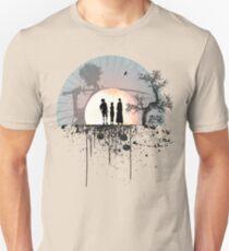 Samurai Splatter Unisex T-Shirt