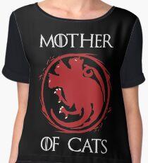 Mother of Cats Women's Chiffon Top