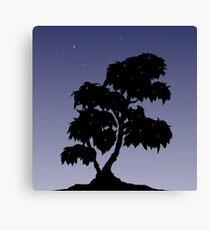 Firefly Tree at Dusk Canvas Print