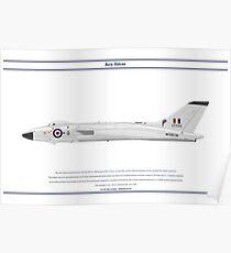 Vulcan B1 617 Sqn Poster