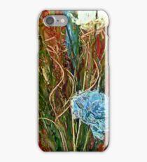 Swirls. Spike & Flowers iPhone Case/Skin