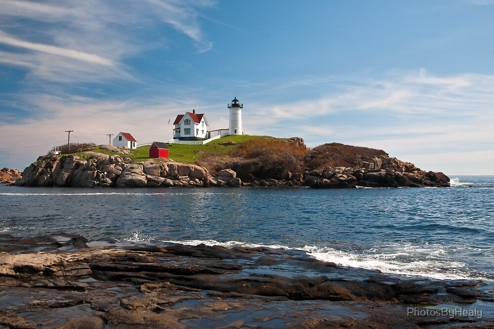 Nubble Light II by PhotosByHealy