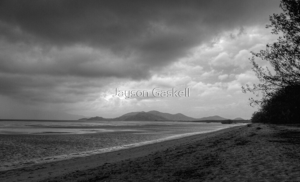 Stormy Beach HDR by Jayson Gaskell