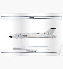 Vulcan B1A 617 Sqn Poster