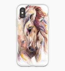 Colored Horse iPhone Case