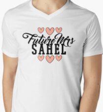 Future Mrs (Sachin) Sahel Men's V-Neck T-Shirt