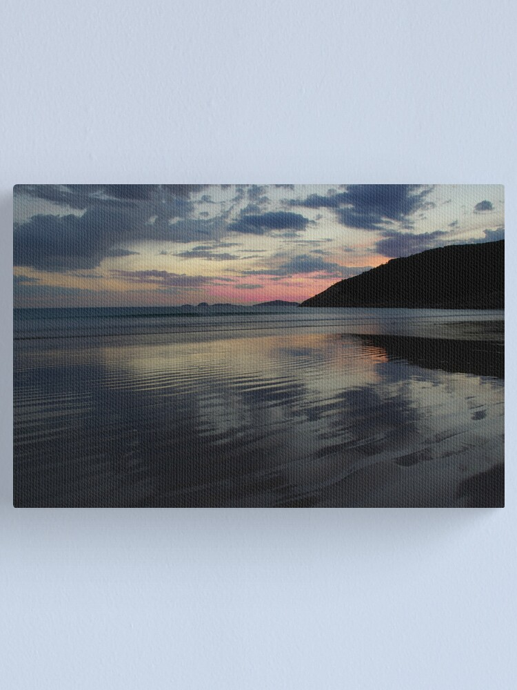 Alternate view of Tidal River After Storm Canvas Print
