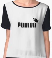 pumba LOGO Women's Chiffon Top