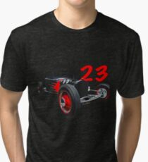 T Rat Rod Poster Tri-blend T-Shirt