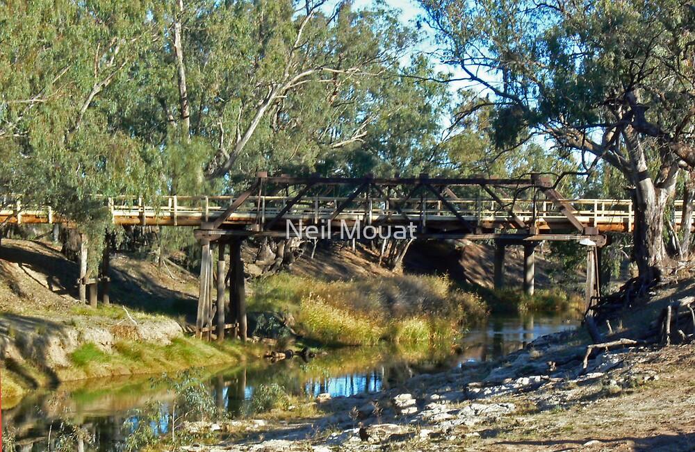 Wilandra Wier Bridge by Neil Mouat