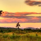 Sunset on the plain HDR by Jayson Gaskell