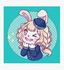 Sailor Bunny! Photographic Print