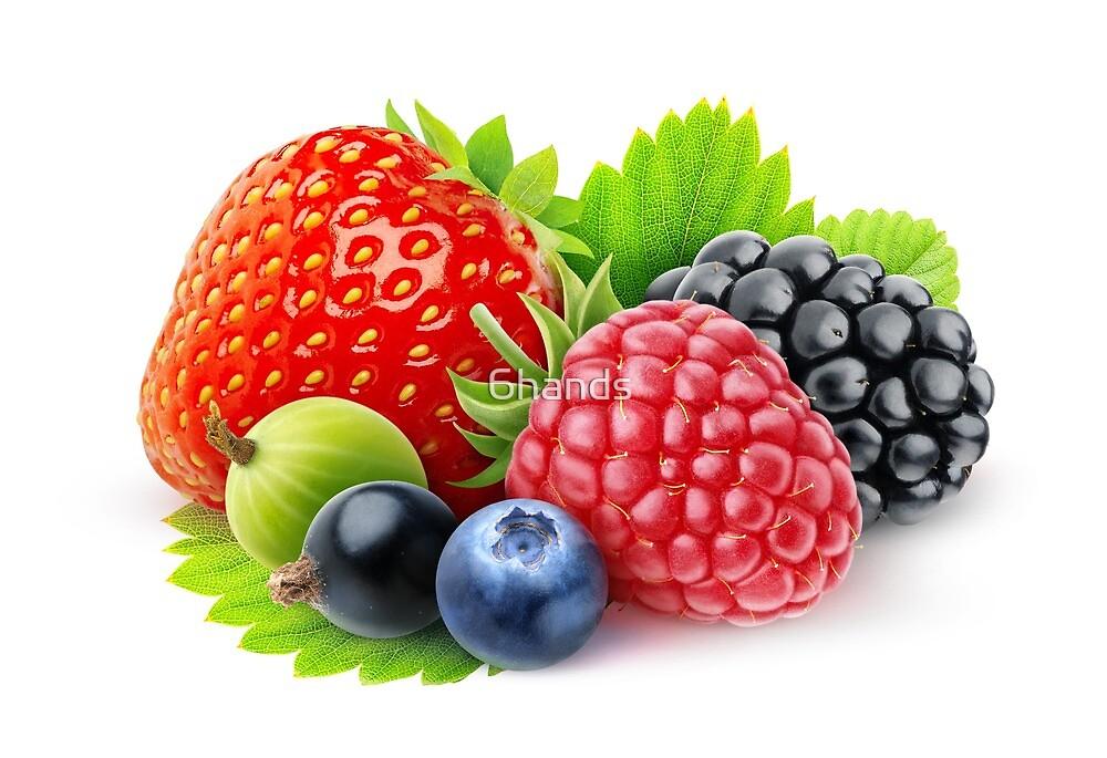 Fresh berries by 6hands