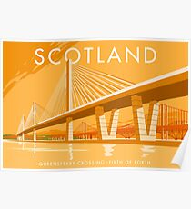 Queensferry Crossing Poster