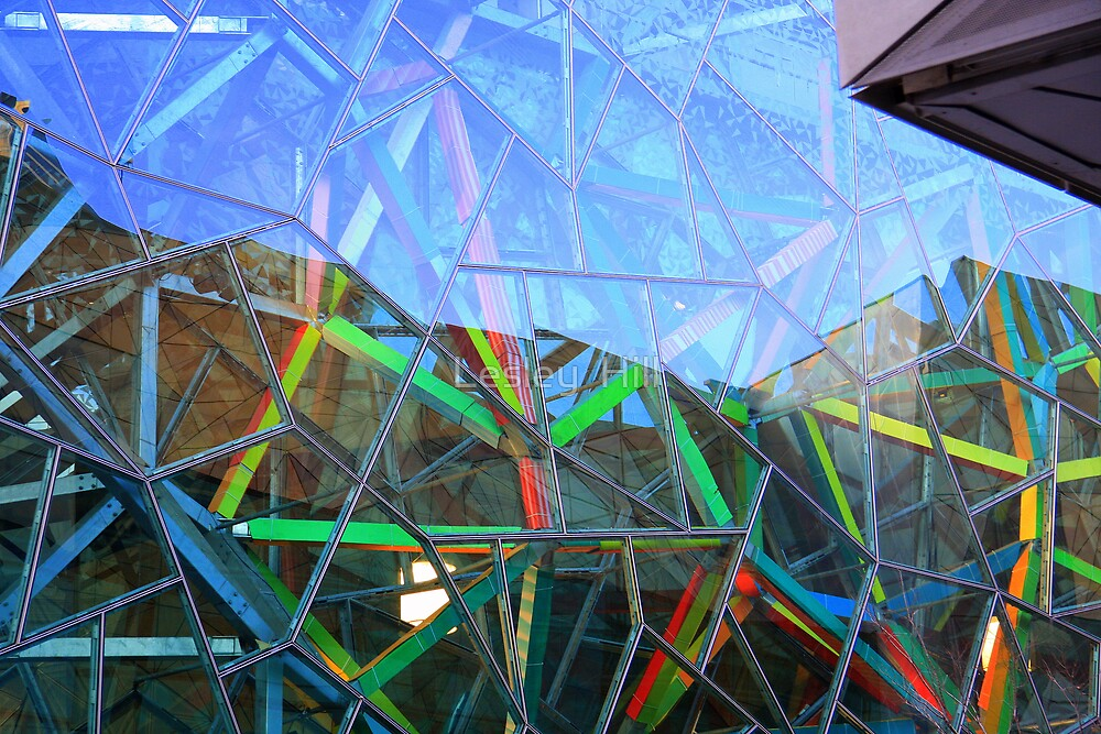 Coloured Angles! by Lesley  Hill