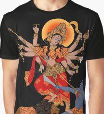 Goddess of Power : Durga (color) Graphic T-Shirt