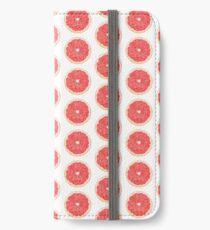 Slice of grapefruit iPhone Wallet/Case/Skin