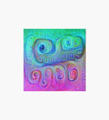 DeepDream Cyan to Magenta 5K Art Board