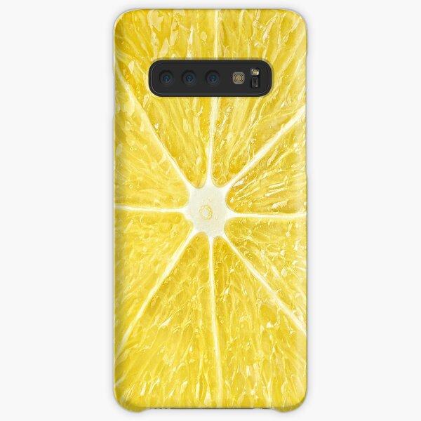 Slice of lemon Samsung Galaxy Snap Case