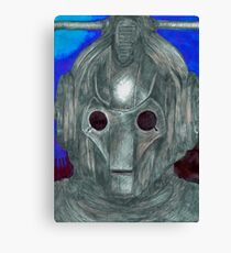 Cyberman Sketch Canvas Print