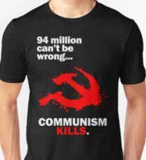 Communism Kills Slim Fit T-Shirt