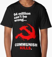 Communism Kills Long T-Shirt