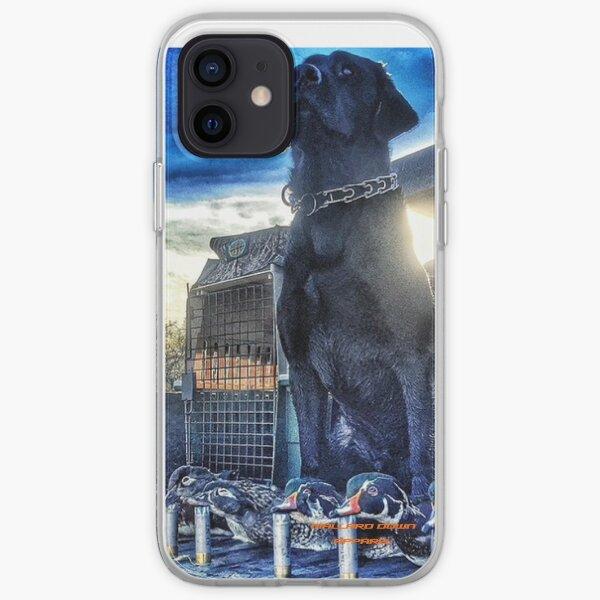 Black Lab - Mallard Down iPhone Soft Case