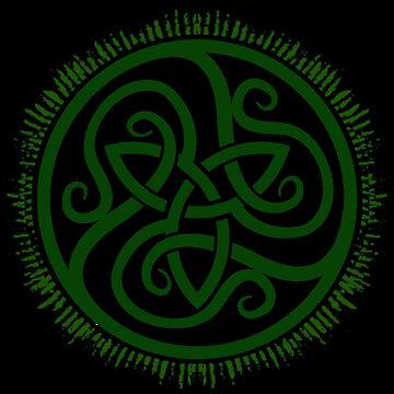 Green Tri-Knot (Goddess) by potty