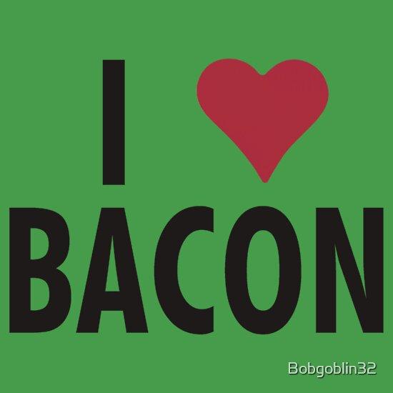 TShirtGifter presents: I Heart Bacon!!
