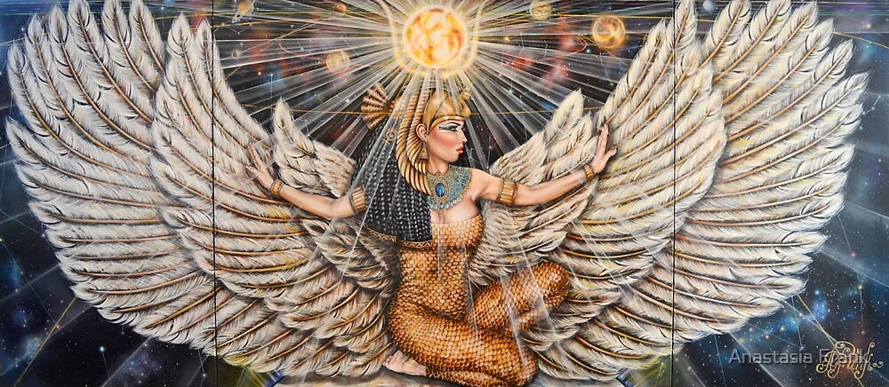 The Mother of the Pharaohs. Isis von Anastasia Frank