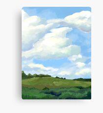 Vast Field Canvas Print