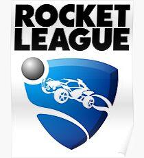 Rocket League -BLACK Logo v2  Poster