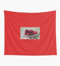 Ripe Plums Wall Tapestry