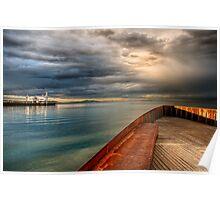 Corio Bay, Geelong Poster