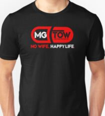 MGTOW T-Shirt: No Wife, Happy Life. Red pill Unisex T-Shirt