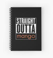 Straight Outta Mango - Juul City Spiral Notebook
