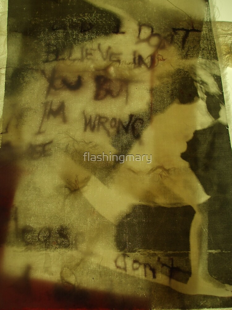 but if i'm wrong... by flashingmary