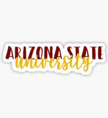 Arizona State - Style 4 Sticker