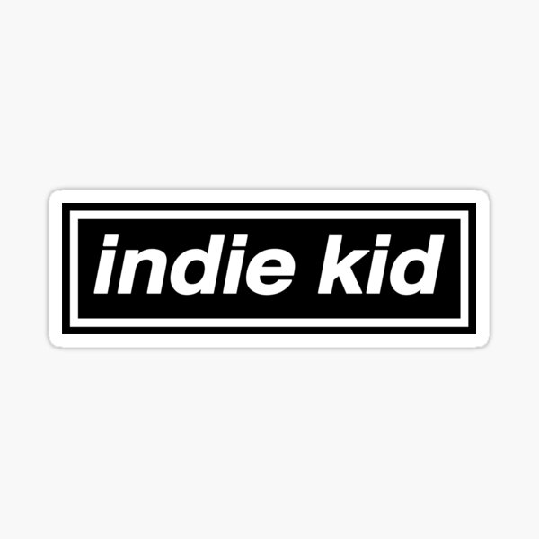 Indie Kid - OASIS Band Tribute - MADE IN THE 90s Sticker