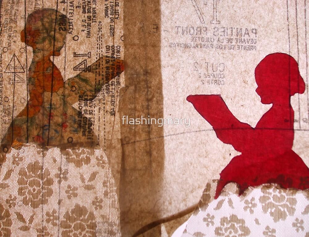 Reading Girls by flashingmary