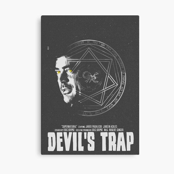 Supernatural Devil's Trap Canvas Print