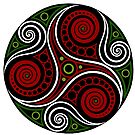 Celtic Triskell (abstract) by Antony Potts